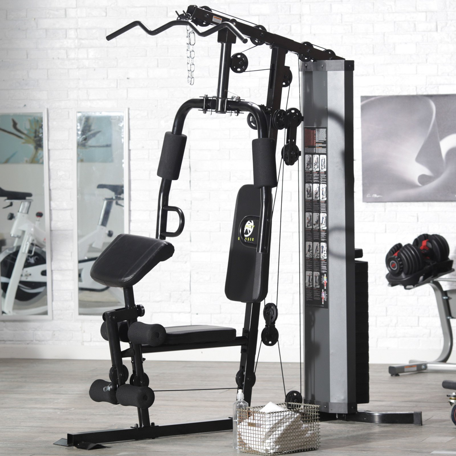 2017 Home Gym Review: Marcy 150 lb. Stack Home Gym